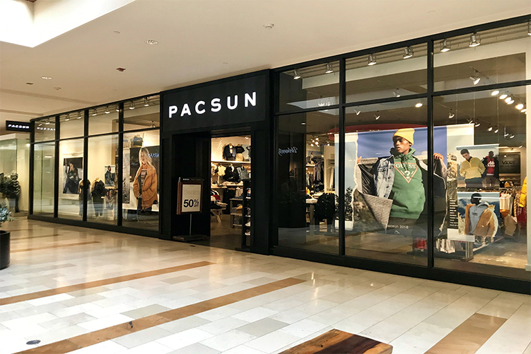 Bellevue Square Mall >> Pacific Sunwear The Bellevue Collection