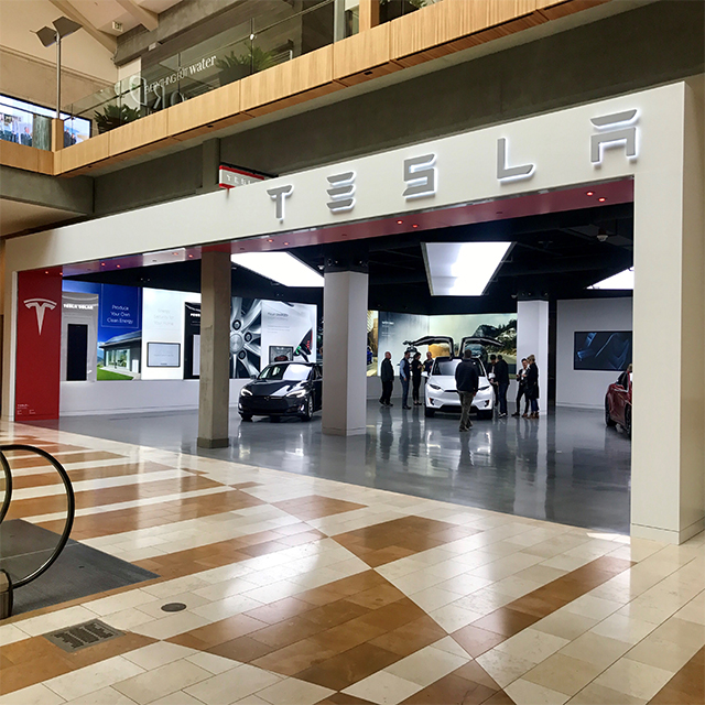 Rent A Tesla >> Tesla Bellevue Square - The Bellevue Collection