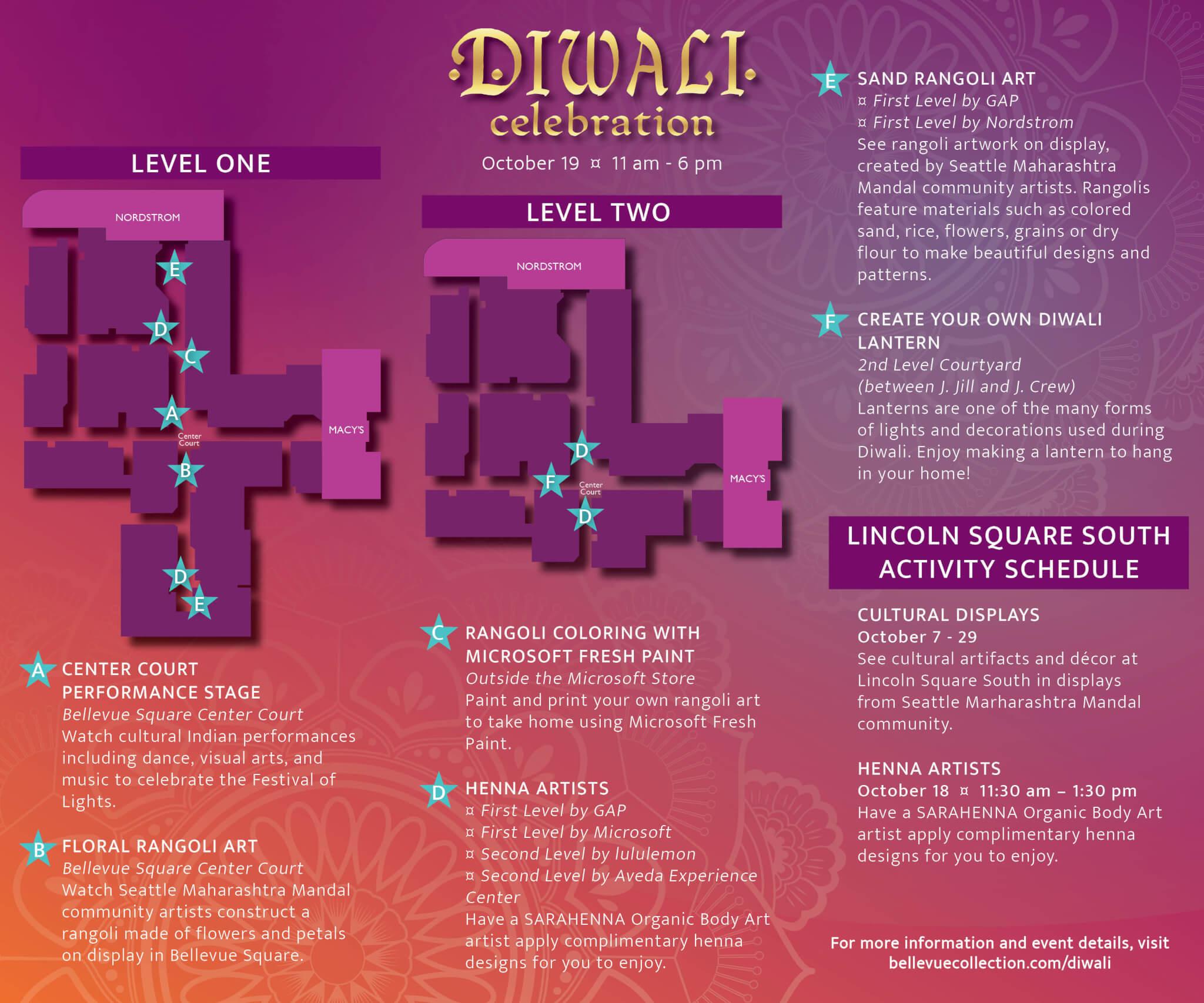 Diwali India Map Night 2019