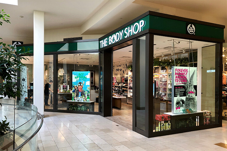 The Body Shop The Bellevue Collection