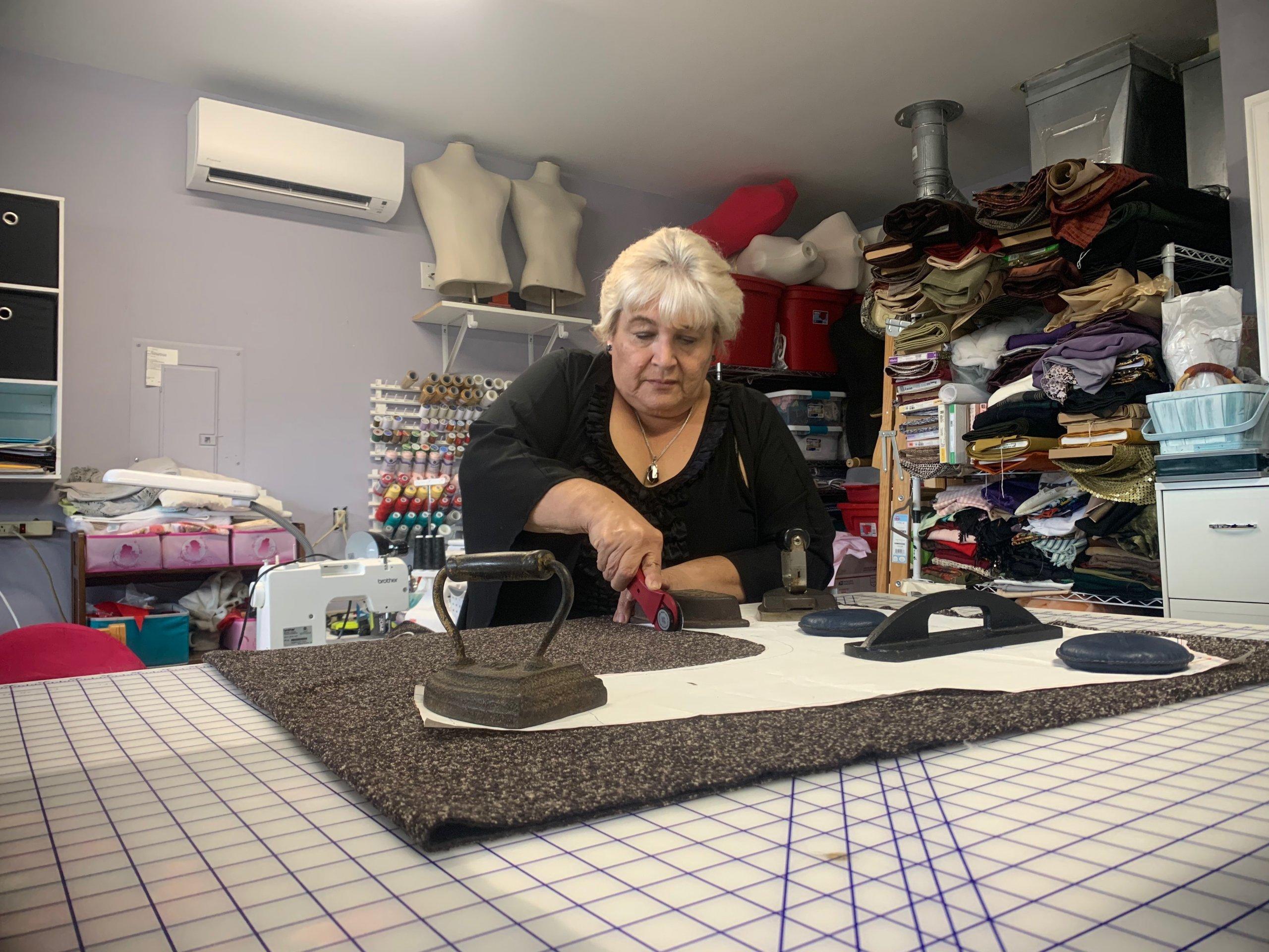 Maria cutting patterns