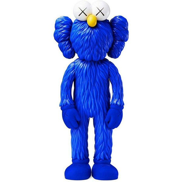 KAWS Blue Figurine